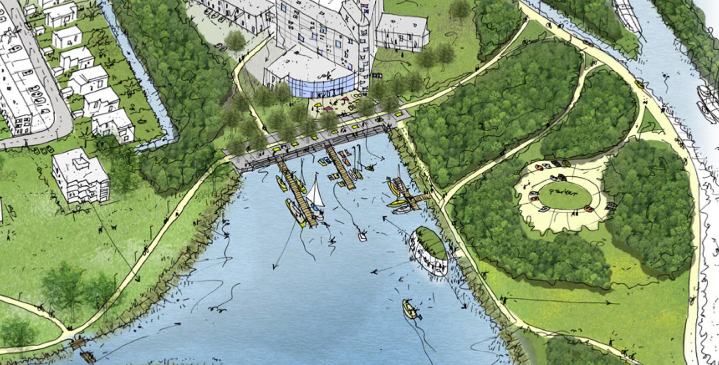 Uitbreiding Hoornsemeer 'De Stad aan het water.'