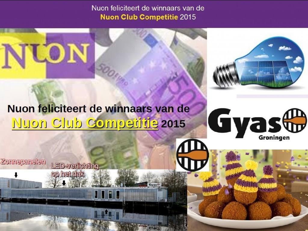 NUON-Gyas Clubcompetitie 2015