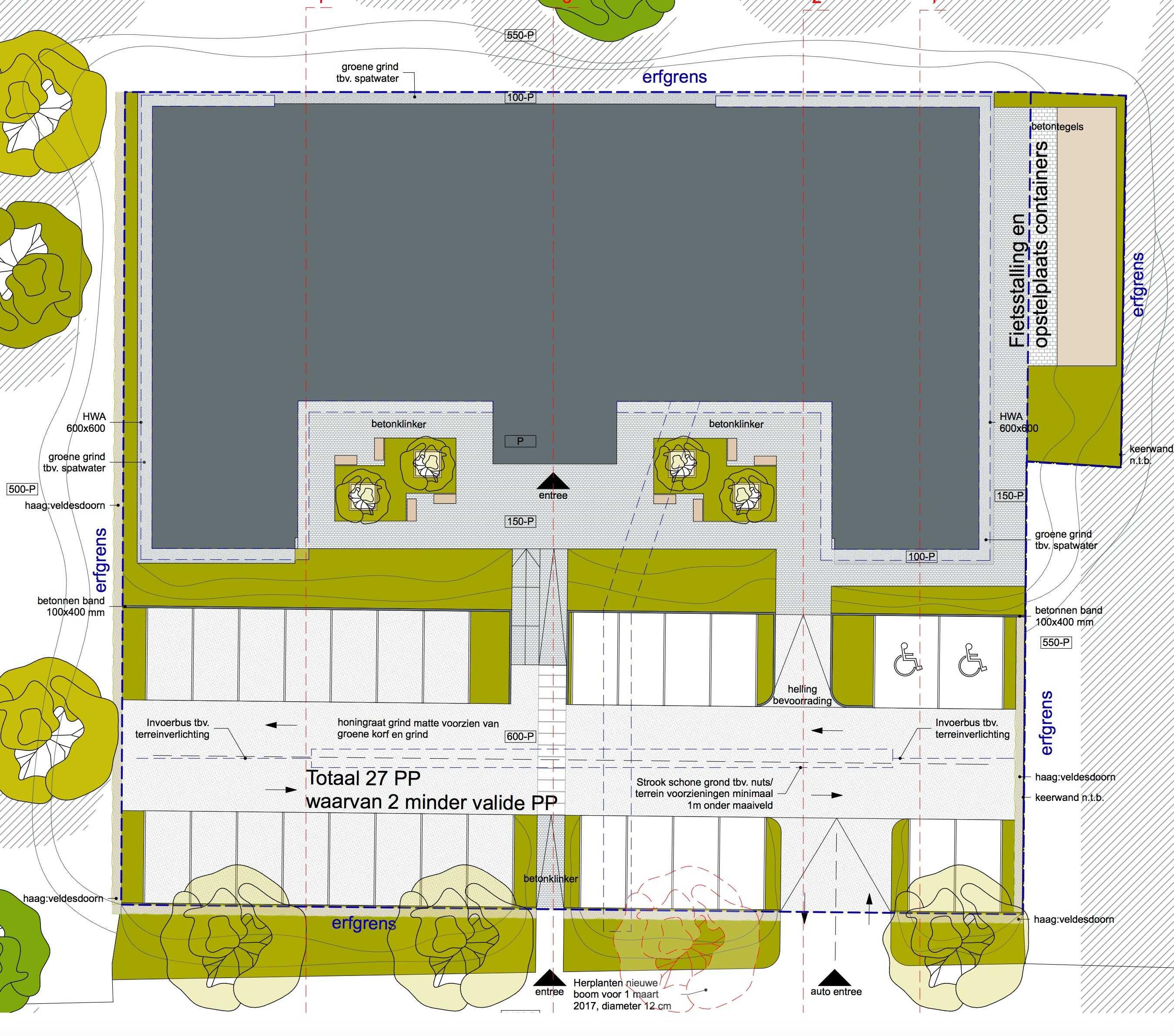 Corpus Medisch Centrum – 27 parkeerplaatsen