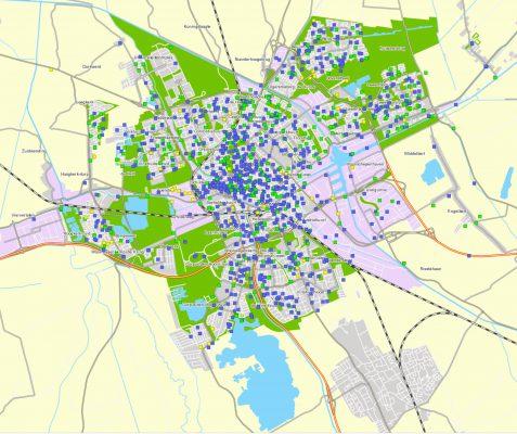 App MeldStad gemeente Groningen