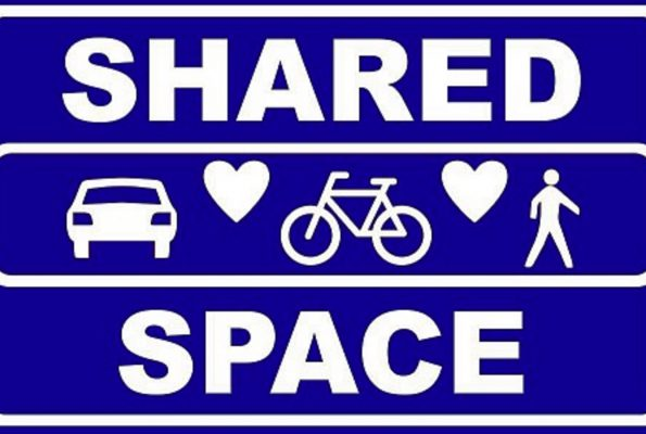 Shared space of juist niet?