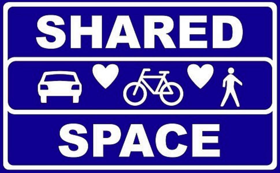 Shared space of juist niet?